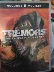 Got 6 of the Tremors movies by cardfightvanguard62