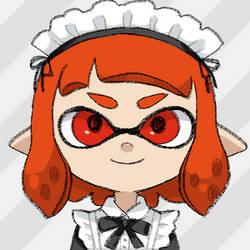My splatoon Doiku: Maid by cardfightvanguard62