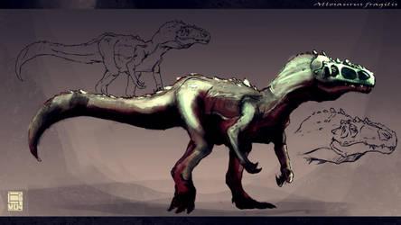 Allosaurus Fragilis by EvoBallistics