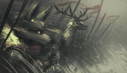 The Rains of Battle by EvoBallistics