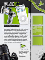 Magazine cover,page,flyer,etc. by wildsway18