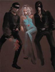 fancy three by misosoupaddict