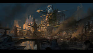 Industrial Citadel by novaillusion