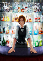 bartender by eleth-art
