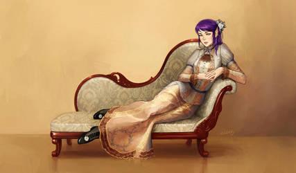 Victorian lady by eleth-art