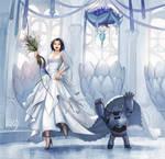 Commission: wedding by eleth-art