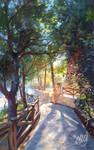 Pine alley by eleth-art