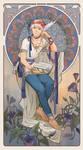 Commission: Art nouveau by eleth-art