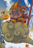 Sun Wukong or Son Goku? by Kawenzmann