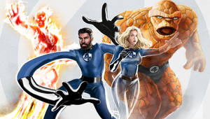 The Fantastic Four Family by DanielMaine