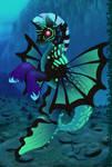 Merpony dark by lunatwo
