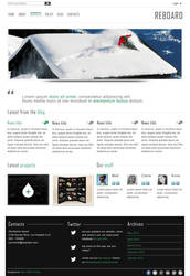 Reboard - Blog and Portfolio Wordpress Theme by kekkorider