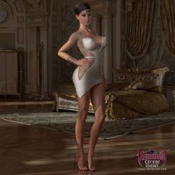 Bloodlust Cerene: Sophia Strutting Her Stuff by affect3d-com