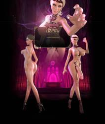 Bloodlust: Cerene: Royal Descent Event Page by affect3d-com