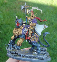 Lord Celestant of the Lions of Sigmar by roganzar