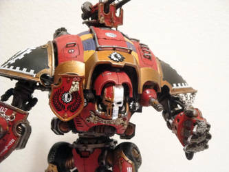Imperial Knight Kreos Hyperius by roganzar