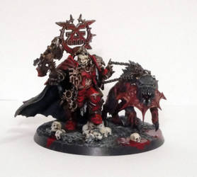 Korghos Khul, The Mighty Lord of Khorne by roganzar