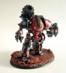 Thanatar Siege-Automata, Izyx-Ramerius-41 by roganzar