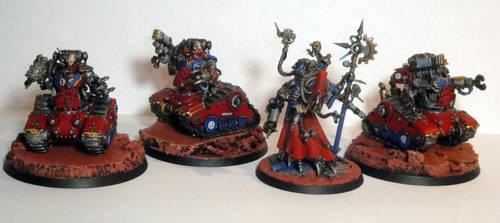 Kataphron Breachers with Dominus Magos by roganzar
