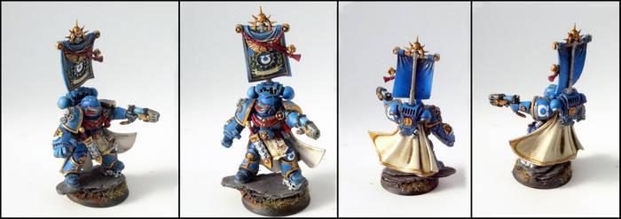 Ultramarines Captain 2nd Company by roganzar
