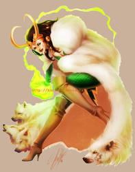 WeLoveFine - Marvel - Lady Loki by kurimja