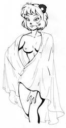 Shanda Pose by KittMouri