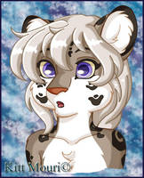 Snow Leopard Full Color by KittMouri