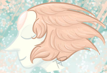 Feather Hair by Tangerineandpuce