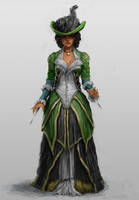 Lady Aveline by B-Dunn