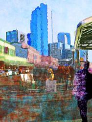 Downtown Seattle Stroll by Jodonna
