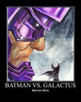 Batman vs Galactus 1 by RavenT2