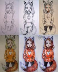 Lolifox (process) by Kitsune-Inari-sama