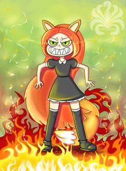 Fanart on Star vs. the Forces of Evil by Kitsune-Inari-sama