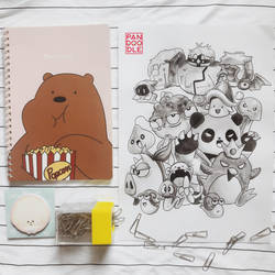 Inktober D16: Maplestory by kuma-panda