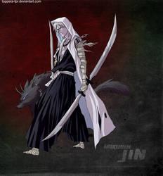 Bleach OC Hakugin Jin by sarzill