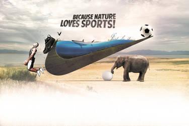 Nike - Nature Sports by karimbalaa