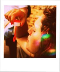 La bulle de savon by Alittlebitdreamer