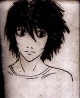 L -Ryuuzaki- Death Note v. 2 by AmrasVeneanar