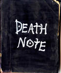 Death Note - handmade by AmrasVeneanar