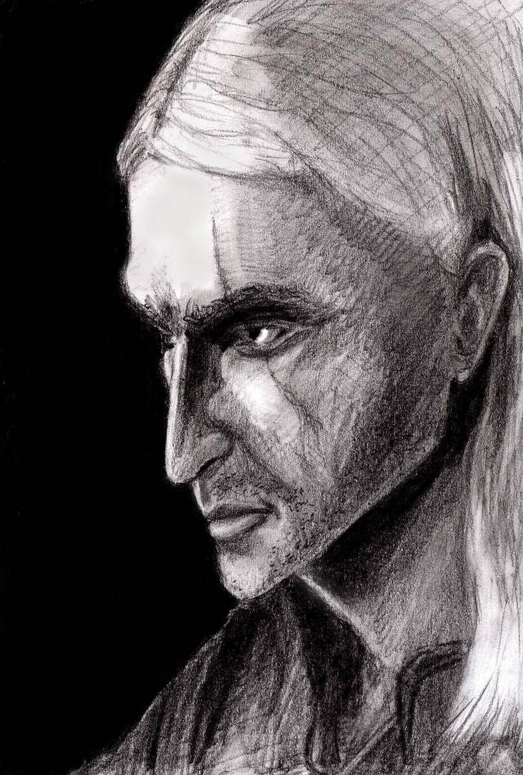 Geralt z Rivii by AmrasVeneanar