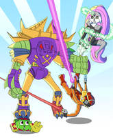 Bucky O'Hare Skratchjam by warthogrampage