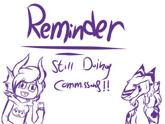REMINDER!!! by LilyDragon14