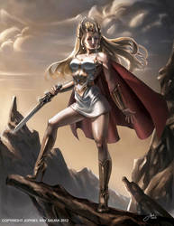 She-Ra Princess of Power (Original Cover Art) by JophielS