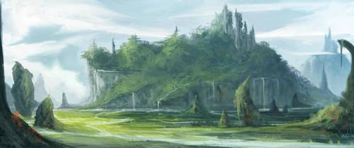 landscape by JustMick