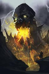 SP-BlackSkull by JustMick