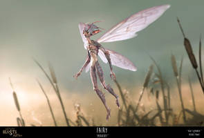 Fake-Tastic Beasts: Fairy by JustMick
