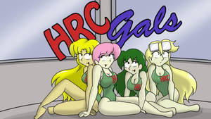 HRC Gals, Wallpaper by CDRudd