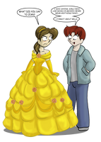 Belle-Natalie and Rodge by CDRudd