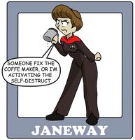 The Captains, Janeway by CDRudd