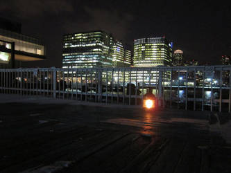 The Last Lamp on Pier Four by PaxAeternum